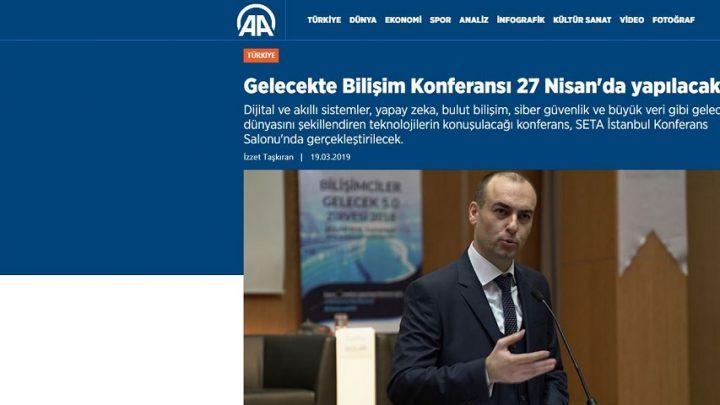Gelecekte Bilişim Konferansı 27 Nisan'da Yapılacak