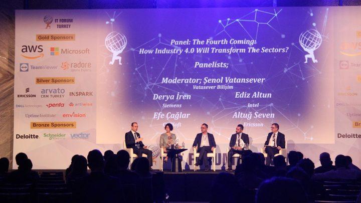IT Forum Turkey'de Günümüzün Dünyası ve Geleceğin Teknolojileri Konuşuldu