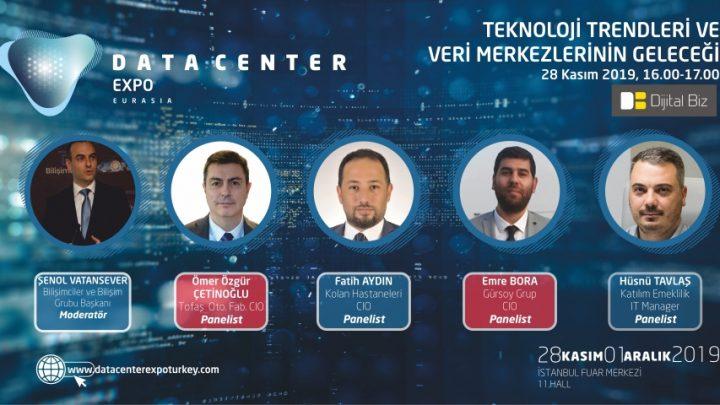 """Data Center Expo Eurasia Fuarı'nda """"Teknoloji Trendleri ve Veri Merkezlerinin Geleceği"""" Konuşulacak"""