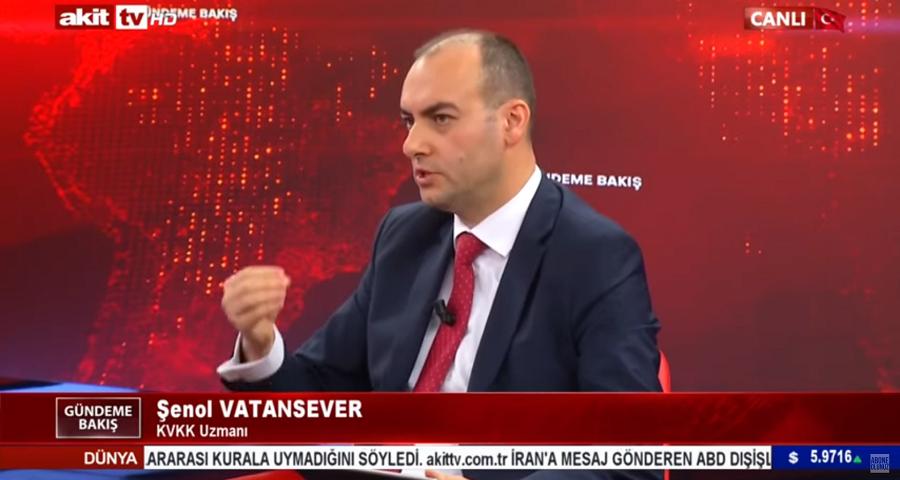 Şenol Vatansever, Akit TV'de Kadir Canpolat'la Gündeme Bakış'a Konuk Oldu